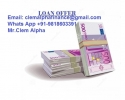 URGENT LOAN OFFER TO SETTLE YOUR BILL A